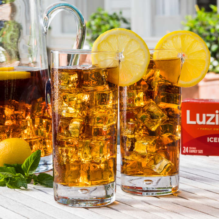 Pitcher of Luzianne[R sub] Iced Tea