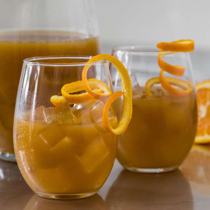 Ginger Iced Tea Punch