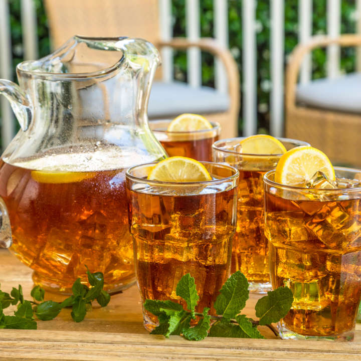 Pitcher of Luzianne[R sub] Cold Brew Iced Tea
